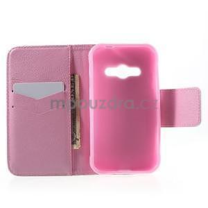 Vzorové peněženkové pouzdro na Samsung Galaxy Xcover 3 - sova - 4