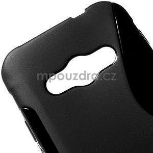 S-line gelový obal na Samsung Galaxy Xcover 3 - černý - 4