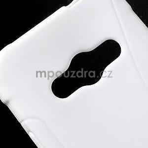 S-line gelový obal na Samsung Galaxy Xcover 3 - bílý - 4