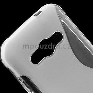 S-line gelový obal na Samsung Galaxy Xcover 3 - transparentní - 4