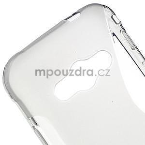 S-line gelový obal na Samsung Galaxy Xcover 3 - šedý - 4