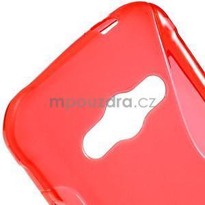 S-line gelový obal na Samsung Galaxy Xcover 3 - červený - 4