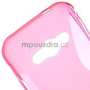 S-line gelový obal na Samsung Galaxy Xcover 3 - růžový - 4