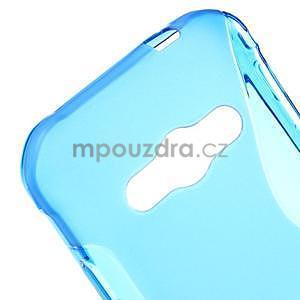 S-line gelový obal na Samsung Galaxy Xcover 3 - modrý - 4
