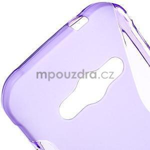 S-line gelový obal na Samsung Galaxy Xcover 3 - fialový - 4