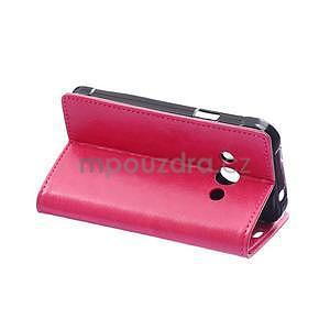 Rose koženkové pouzdro Samsung Galaxy Xcover 3 - 4