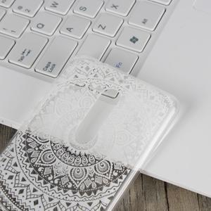 Mandala hybridní gelový obal na Nokia 5 - bílý - 4