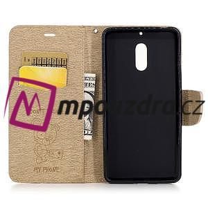 BadBeer peněženkové pouzdro na Nokia 6 - champagne - 4