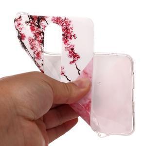 Marble silikonový kryt na mobil Nokia 6.1 - růžový květ - 4