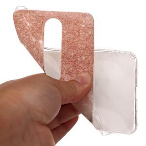 Marble silikonový kryt na mobil Nokia 6.1 - oranžovošedý - 4