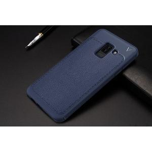 IVS odolný gelový obal na Samsung Galaxy A6+ (2018) - tmavě modrý - 4