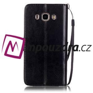 MagicFly PU kožené pouzdro na Samsung Galaxy J5 (2016) - černé - 4