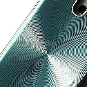 Metalický obal na Samsung Galaxy S4 mini - tyrkysový - 4
