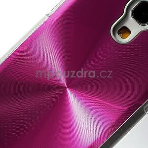 Metalický obal na Samsung Galaxy S4 mini - rose - 4