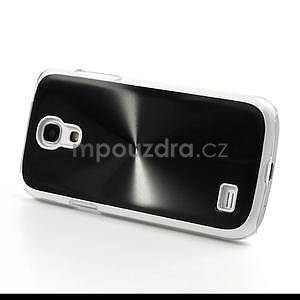 Metalický obal na Samsung Galaxy S4 mini - černý - 4