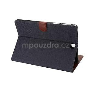 Jeans pouzdro na tablet Samsung Galaxy Tab A 9.7 - černomodré - 4
