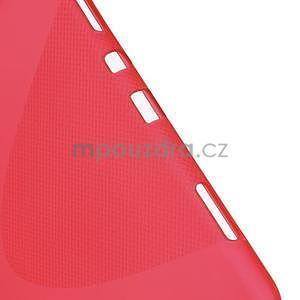 X-line gelový obal na tablet Samsung Galaxy Tab A 9.7 - červený - 4
