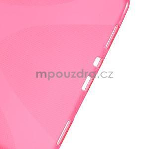 X-line gelový obal na tablet Samsung Galaxy Tab A 9.7 - rose - 4
