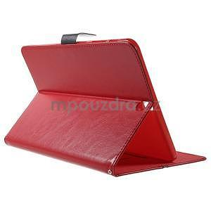 Flatense stylové pouzdro pro Samsung Galaxy Tab S2 9.7 - červené - 4