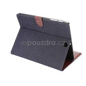 Jeans pouzdro na tablet Samsung Galaxy Tab S2 9.7 - černomodré - 4