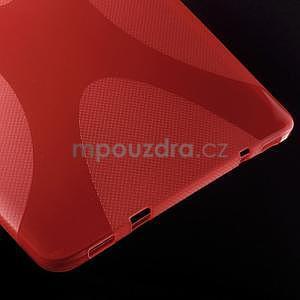 X-line gelový kryt na Samsung Galaxy Tab S2 9.7 - červený - 4