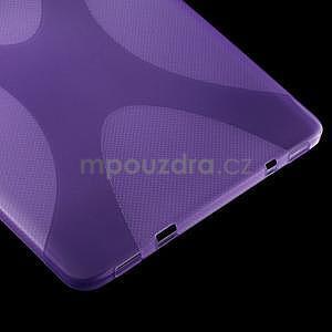 X-line gelový kryt na Samsung Galaxy Tab S2 9.7 - fialový - 4