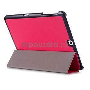 Trifold polohovatelné pouzdro na Samsung Galaxy Tab S2 9.7 - rose - 4
