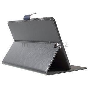 Flatense stylové pouzdro pro Samsung Galaxy Tab S2 9.7 - šedé - 4