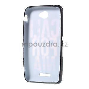 Gelový obal na Sony Xperia E4 - California - 4
