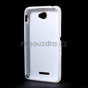 Gelový x-line obal na Sony Xperia E4 - bílý - 4