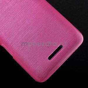 Broušený gelový obal pro Sony Xperia E4 - rose - 4