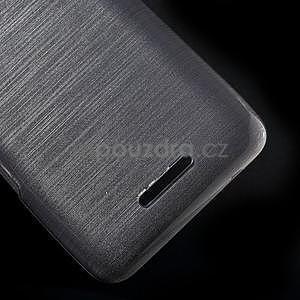 Broušený gelový obal pro Sony Xperia E4 - transparentní - 4
