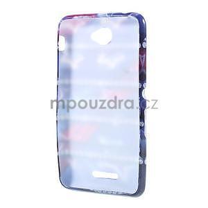 Gelový obal na Sony Xperia E4 - snové diamanty - 4