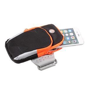 Zippy univerzální sportovní taštička na ruku pro telefony do rozměru 157 x 77 mm - černá - 4