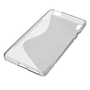 S-line gelový obal na mobil Sony Xperia E5 - šedý - 4