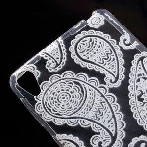 Ultratenký gelový obal na Sony Xperia E5 - krajky I - 4