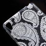 Ultratenký gelový obal na Sony Xperia E5 - krajky I - 4/5
