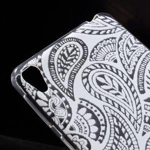 Ultratenký gelový obal na Sony Xperia E5 - krajky II - 4