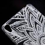 Ultratenký gelový obal na Sony Xperia E5 - henna - 4/5
