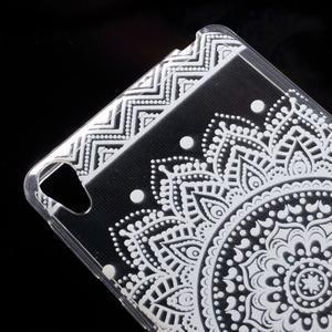 Ultratenký gelový obal na Sony Xperia E5 - mandala III - 4