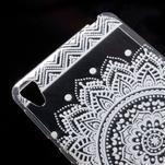 Ultratenký gelový obal na Sony Xperia E5 - mandala III - 4/5