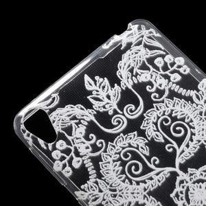 Ultratenký gelový obal na Sony Xperia E5 - krajky IV - 4