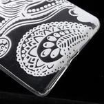 Ultratenký gelový obal na Sony Xperia E5 - květina - 4/5