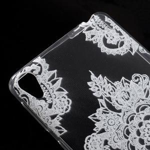 Ultratenký gelový obal na Sony Xperia E5 - krajky V - 4