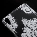 Ultratenký gelový obal na Sony Xperia E5 - krajky V - 4/5