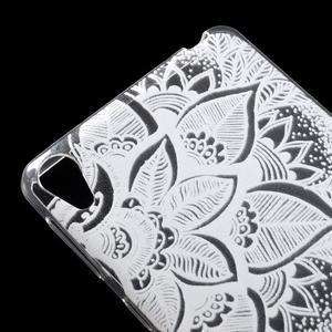 Ultratenký gelový obal na Sony Xperia E5 - lístky - 4