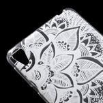Ultratenký gelový obal na Sony Xperia E5 - lístky - 4/6
