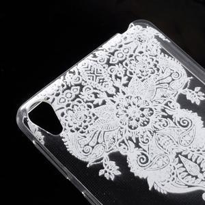 Ultratenký gelový obal na Sony Xperia E5 - krajky III - 4