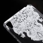 Ultratenký gelový obal na Sony Xperia E5 - krajky III - 4/5