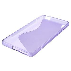 S-line gelový obal na mobil Sony Xperia E5 - fialový - 4